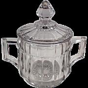 Vintage Heisey #393 Pattern - Covered Sugar Bowl