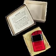 Vintage Cigarette Lighter - Ritepoint Liter with Advertising & Original Box
