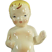 Vintage Dadson Art Ware Pottery - Toddler Figurine - Baby's First Steps