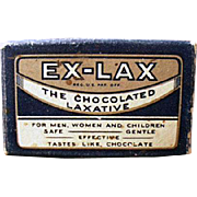 Vintage Ex-Lax Laxative Sample Package