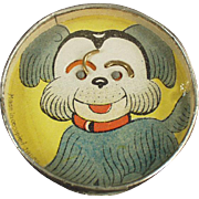 Vintage Dexterity Puzzle - Dog Face with Mirror Back - O.J.