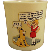 Vintage Orphan Annie and Sandy, Ovaltine Mug - Beetleware