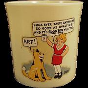 Vintage Orphan Annie and Sandy, Ovaltine Mug - Beetleware