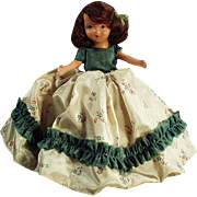 Vintage Nancy Ann Storybook Doll - Pretty Outfit