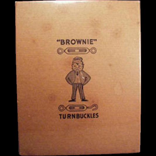 Vintage Turnbuckle Tool Box - Palmer Cox Brownie