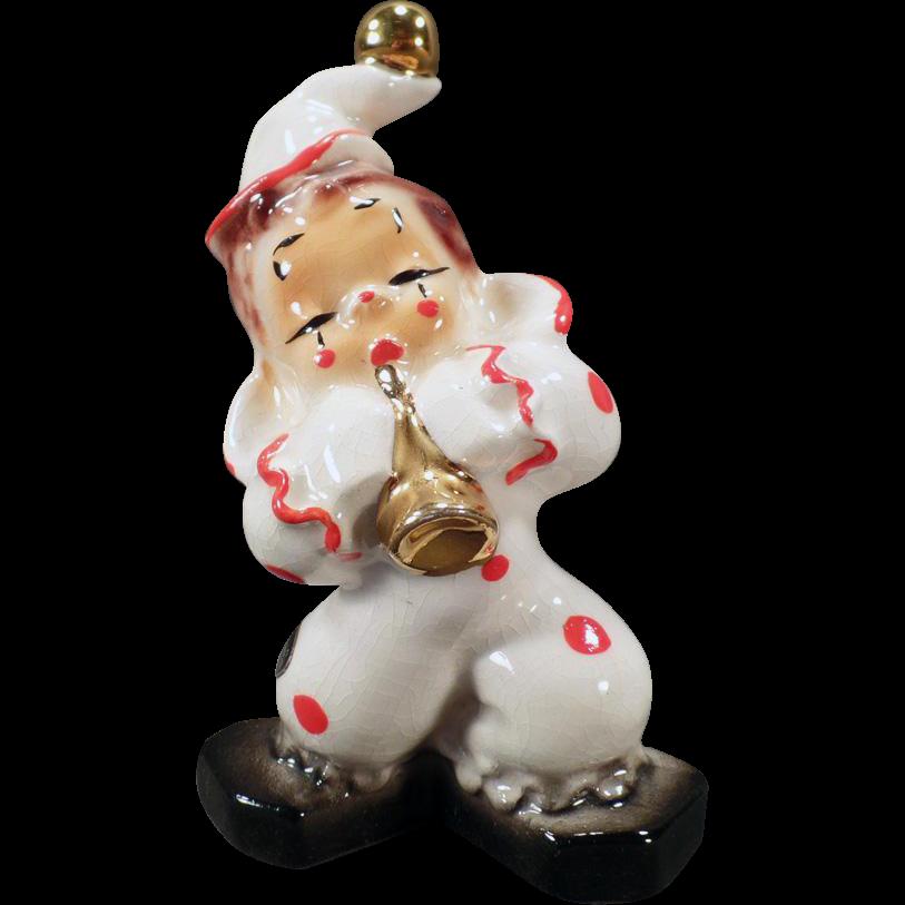Vintage California Josef Original – Wonderful Porcelain Clown Figure