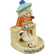 Vintage Schafer & Vater Whimsy - Waiting for the Tide Scotsman