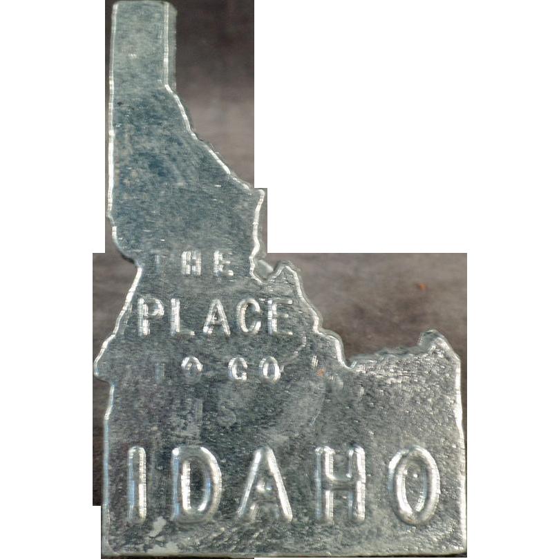 Vintage Idaho Souvenir - Zinc Sample from Kellogg, Idaho