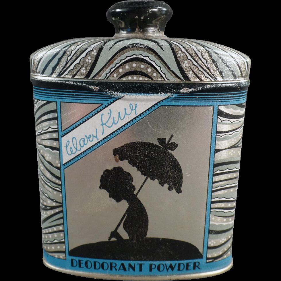 Vintage Powder Deodorant Tin - Watkins' Mary King Line