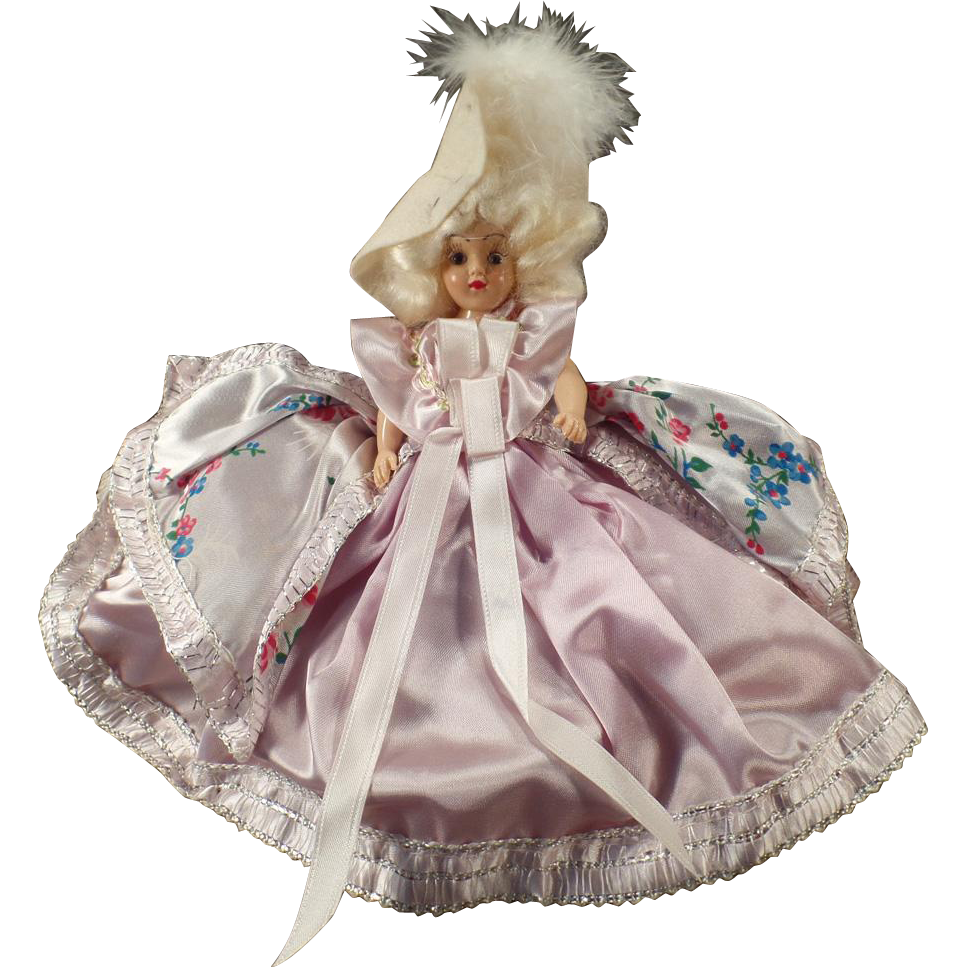 Vintage Duchess Doll with Original Box - Dolly Madison - Dolls of All Nations