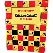 Sunset's New Kitchen Cabinet Cook Book – 1940 Spiral Bound Edition