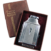 Vintage Ronson Lighter - Mastercase Cigarette Case and Lighter with Original Box