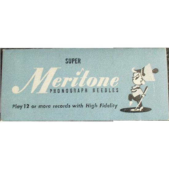 Vintage Steel Phonograph Needles - Meritone 25