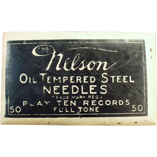 Vintage Steel Phonograph Needles - Nelson 50