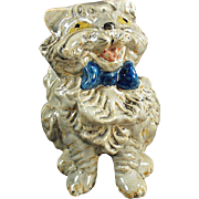 Vintage Pottery Cat Figurine - Happy Disposition to Make You Smile