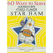 Vintage Recipe Booklet - Armour Ham Advertising Recipe Book