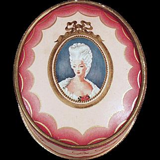 Vintage Du Barry Face Powder Box - Richard Hudnut