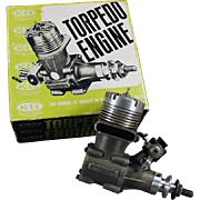 Vintage Torpedo 40RC - Front Rotor, Gas Powered Engine & Perry Carburetor