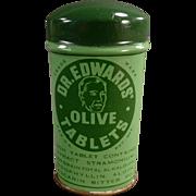 Vintage Laxative Tin - Dr. Edwards Laxatives