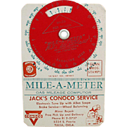 Vintage Mile-A-Meter Computer - Conoco Advertising