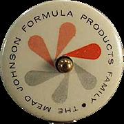 Vintage Celluloid Tape Measure Advertising Mead Johnson