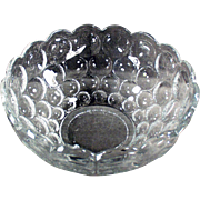 Vintage Heisey Serving Bowl - Provincial Pattern