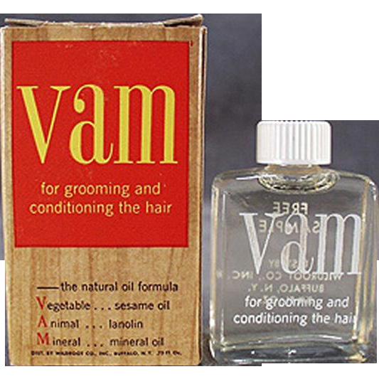 Vintage VAM Sample Bottle with Original Box