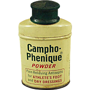 Vintage Campho-Phenique Powder - Old Sample Tin
