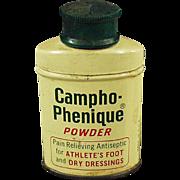 Vintage Campho-Phenique Powder - Old Sample Tin