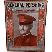 Vintage Sheet Music - General Pershing One Step - 1918