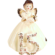 Vintage Josef Original Birthday Angel -  Fifteenth Birthday