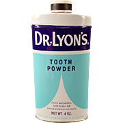 Vintage Tooth Powder Tin – Dr. Lyon's – 1960's
