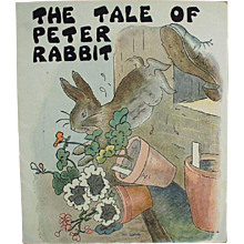 Child's Vintage Story Booklet - The Tale of Peter Rabbit