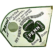 Vintage Pot Scraper - Mt. Penn Stoves Advertising