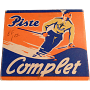 Vintage Holmenkol Piste Complet Ski Wax in Original Package