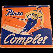Vintage Holmenkol Piste Complet Ski Wax in Original Package