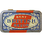 Vintage Razor TIn - Best British Razor Tin - No Razor
