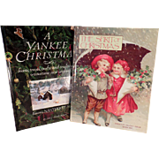 Two Vintage Holiday Books - A Yankee Christmas and The Spirit of Christmas