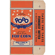 Vintage Pop-O Popcorn Box - Never Used