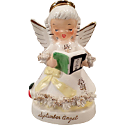 Vintage September Birthday Angel – Sweet Napco Porcelain Figure