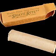 Vintage Razor Strop Dressing - ShaveRite with Original Box