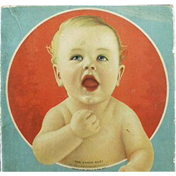 Vintage Vanta Baby Advertising Clothes Box - Vanta Baby Garments