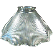 Vintage Light Shade - Single Shade - Close Ribbed Pattern