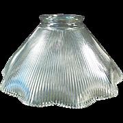 Vintage Light Shade - Single Shade - Close Ribbed Pattern