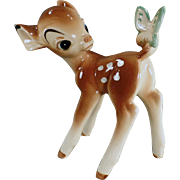 Vintage Enesco Bambi - Disney Figurine -  Bambi with Butterfly