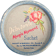 Vintage Debutante Sachet Box - Magic Moment from the Fuller Brush Co.