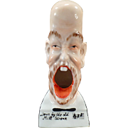 Vintage Smoking Head Porcelain Whimsy – Down by the Old Mill Stream