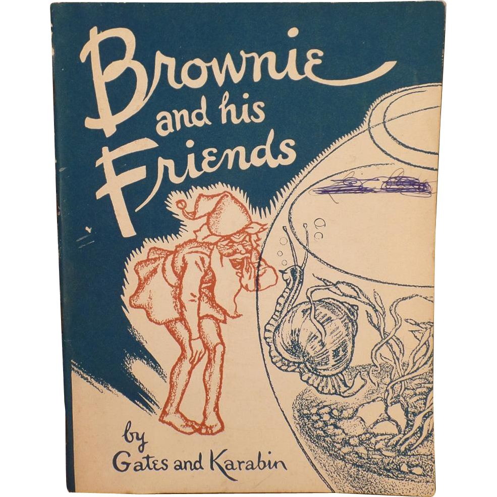 Vintage Story Booklet – Brownie and his Friends – Two Stories – Great Illustrations