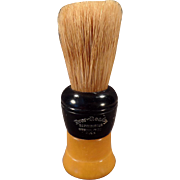 Vintage Ever Ready 200 Shaving Brush - Badger Bristle - Butterscotch Bakelite Handle