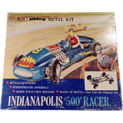 Vintage Hubley Scale Model Kit - Metal Kit - Indianapolis 500 Race Car - #852K-300
